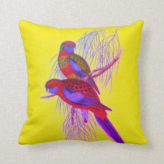 Pennant's Parakeet Throw Pillow