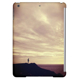 Pennard cliffs at sunset, Gower, Swansea iPad Air Cover