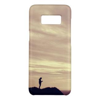 Pennard Cliffs sunset Case-Mate Samsung Galaxy S8 Case