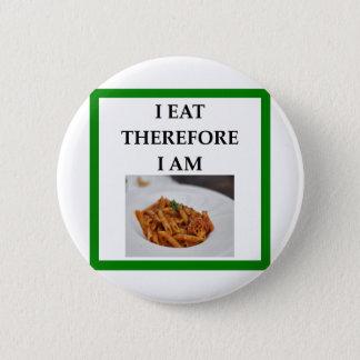 penne 2 inch round button