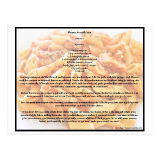 Penne Arrabbiata Recipe postcard