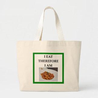 penne large tote bag