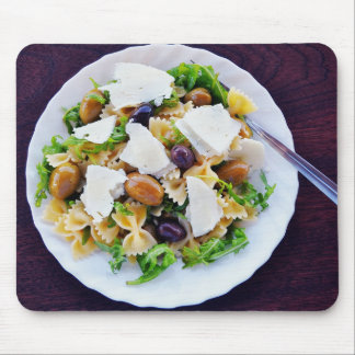 Penne Salad Realistic Funny Food Mouse Pad