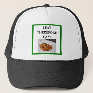 penne trucker hat
