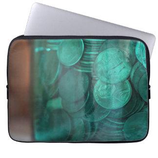 Pennies Laptop Sleeve