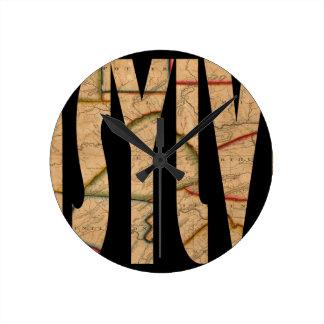 pennsylvania1811 round clock