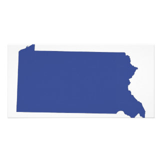 Pennsylvania -a BLUE state Photo Cards