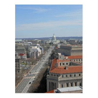 Pennsylvania Ave Capitol Building Washington DC 02 Postcard