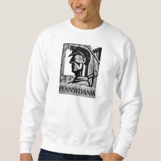 Pennsylvania Coal Poster WPA 1938 Sweatshirt