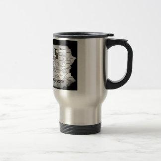 pennsylvania-county-map travel mug