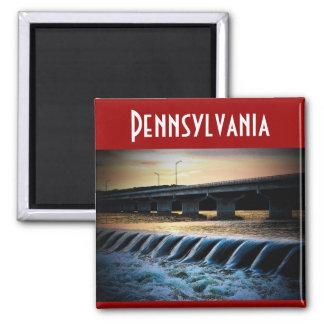 Pennsylvania (Dam) Magnet