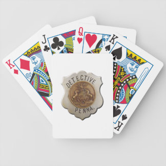 Pennsylvania Detective Bicycle Playing Cards