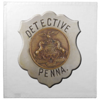 Pennsylvania Detective Napkin