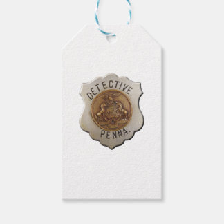 Pennsylvania Detective Pack Of Gift Tags