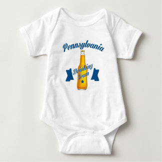 Pennsylvania Drinking team Baby Bodysuit