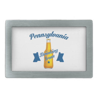 Pennsylvania Drinking team Belt Buckles