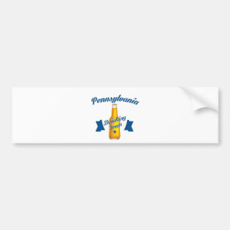 Pennsylvania Drinking team Bumper Sticker