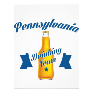 Pennsylvania Drinking team Letterhead