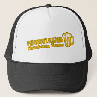 Pennsylvania Drinking Team t shirts Trucker Hat