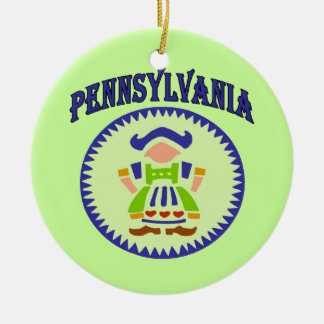 Pennsylvania Dutch Ceramic Ornament