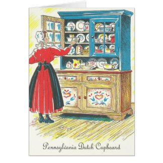 Pennsylvania Dutch Cupboard Liver Dumplings / Saus Card
