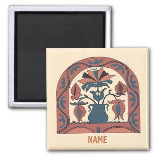 Pennsylvania Dutch Hex Sign, add names Magnet