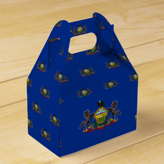 Pennsylvania Flag Favor Box