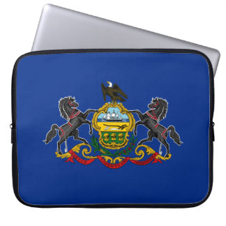 Pennsylvania Flag Laptop Sleeve