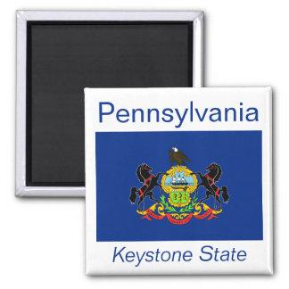 Pennsylvania Flag Magnet