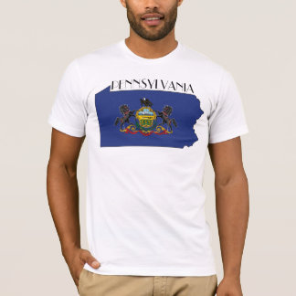 Pennsylvania Flag-Map Shirt