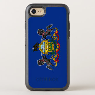 Pennsylvania Flag OtterBox Symmetry iPhone 8/7 Case
