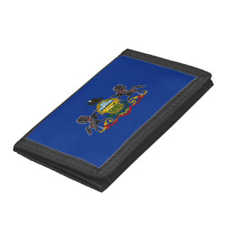 Pennsylvania Flag Trifold Wallet