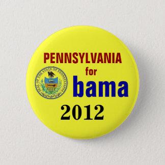 Pennsylvania for Obama 2012 2 Inch Round Button