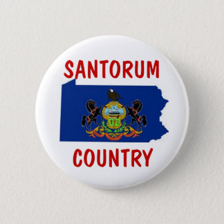 Pennsylvania for Santorum 2 Inch Round Button