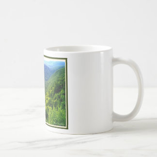 Pennsylvania Grand Canyon in summer Coffee Mug