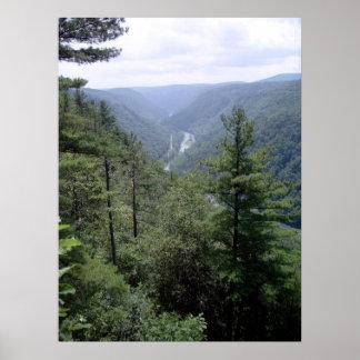 Pennsylvania Grand Canyon Poster