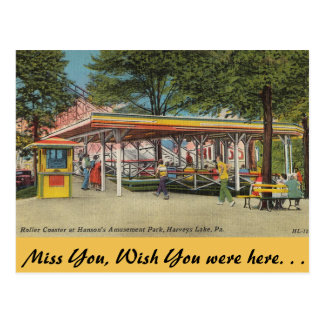 Pennsylvania, Hanson Amusement Park Postcard