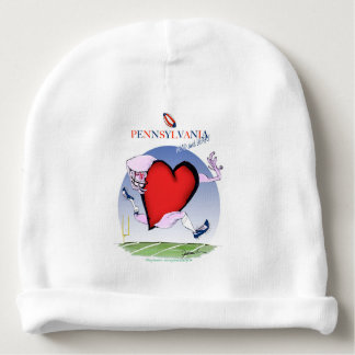 pennsylvania head heart, tony fernandes baby beanie