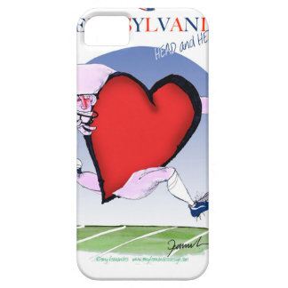 pennsylvania head heart, tony fernandes iPhone 5 covers