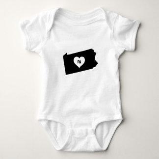 Pennsylvania Love Baby Bodysuit