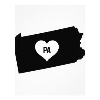 Pennsylvania Love Letterhead
