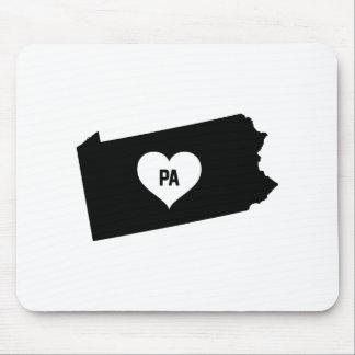 Pennsylvania Love Mouse Pad