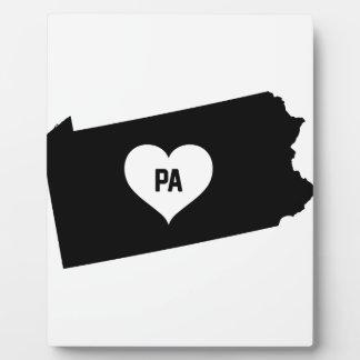 Pennsylvania Love Plaque
