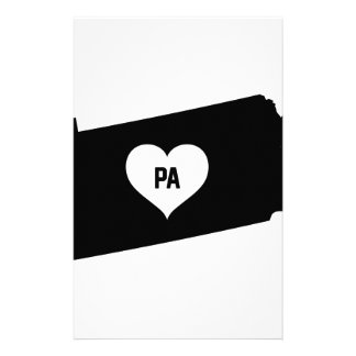Pennsylvania Love Stationery