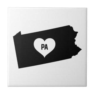 Pennsylvania Love Tile
