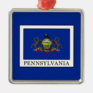 Pennsylvania Metal Ornament