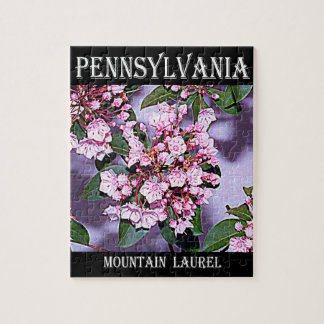 Pennsylvania Mountain Laurel Jigsaw Puzzle