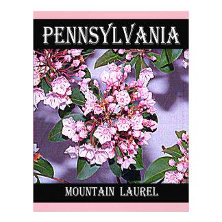 Pennsylvania Mountain Laurel Letterhead