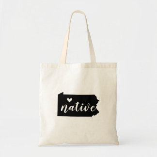Pennsylvania Native State Tote Bag