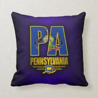 Pennsylvania (PA) Throw Pillow